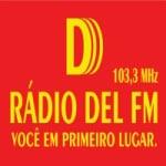 Logo da emissora Rádio Del FM