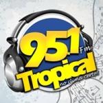 Logo da emissora Rádio Tropical 95.1 FM