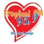 Logo da emissora Rádio Tropical 95.9 FM