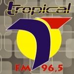 Logo da emissora Rádio Tropical 96.5 FM