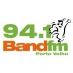 Logo da emissora Rádio Band 94.1 FM