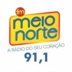 Logo da emissora Rádio Meio Norte 91.1 FM Tocantins