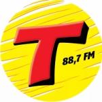 Logo da emissora Rádio Transamérica 88.7 FM