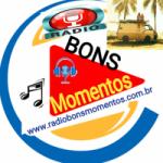 Logo da emissora Rádio Bons Momentos