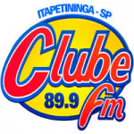 Logo da emissora Rádio Clube 89.9 FM
