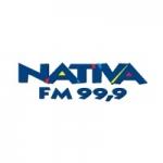 Logo da emissora Rádio Nativa 99.9 FM