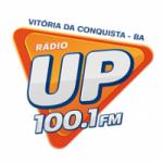 Logo da emissora Rádio UP 100.1 FM