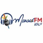 Logo da emissora Rádio Maracá 101.5 FM
