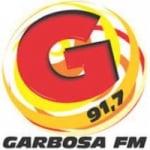 Logo da emissora Rádio Garbosa 91.7 FM