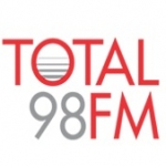 Logo da emissora Rádio Total 98.7 FM