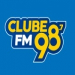 Logo da emissora Rádio Clube 98.7 FM