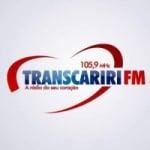 Logo da emissora Rádio Transcariri 105.9 FM