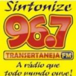 Logo da emissora Rádio Transertaneja 96.7 FM