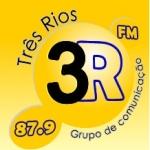 Logo da emissora Rádio Três Rios 87.9 FM