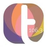 Logo da emissora Rádio Tribuna 106.3 FM