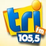 Logo da emissora Rádio Tri 105.5 FM