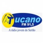Logo da emissora Rádio Tucano 91.5 FM