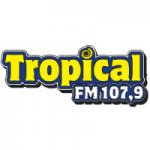 Logo da emissora Rádio Tropical 107.9 FM
