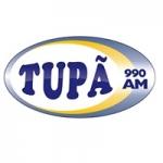 Logo da emissora Rádio Tupã 990 AM