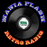 Logo da emissora Mania Flash Radio