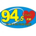 Logo da emissora Rádio União 94.5 FM