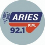 Logo da emissora Radio Aries 92.1 FM