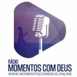 Logo da emissora Rádio Web Momentos Com Deus