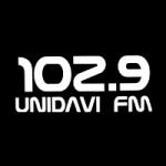 Logo da emissora Rádio Unidavi 102.9 FM