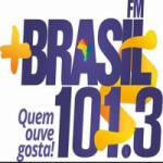Logo da emissora Rádio Mais Brasil  101.3 FM