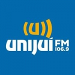 Logo da emissora Rádio Unijuí 106.9 FM
