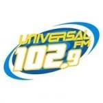 Logo da emissora Rádio Universal 102.9 FM