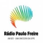 Logo da emissora Rádio Paulo Freire 820 AM