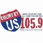 Logo da emissora Radio WGKC U.S. 105.9 FM
