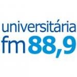 Logo da emissora Rádio Universitária 88.9 FM