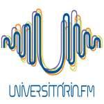 Logo da emissora Rádio Universitária 104.7 FM