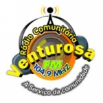 Logo da emissora Rádio Venturosa 104.9 FM