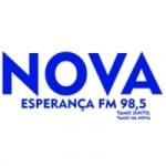 Logo da emissora Web Rádio Nova Esperança FM