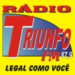Logo da emissora Rádio Triunfo 87.9 FM
