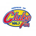 Logo da emissora Rádio Clube 105.7 FM