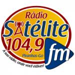 Logo da emissora Rádio Satélite 104.9 FM