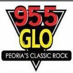Logo da emissora Radio WGLO 95.5 FM