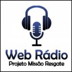 Logo da emissora Rádio Projeto Missão Resgate