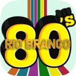 Logo da emissora Web Rádio Rio Branco 80s