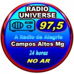 Logo da emissora Rádio Universe FM