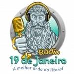 Logo da emissora Rádio 19 de Janeiro