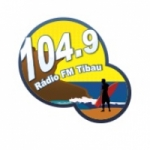 Logo da emissora Rádio Tibau 104.9 FM