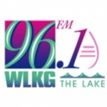 Logo da emissora WLKG 96.1 FM