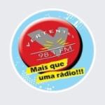 Logo da emissora Rádio Vertentes 98.1 FM