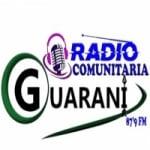 Logo da emissora Rádio Guarani FM