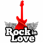 Logo da emissora Web Rádio Rock in Love
